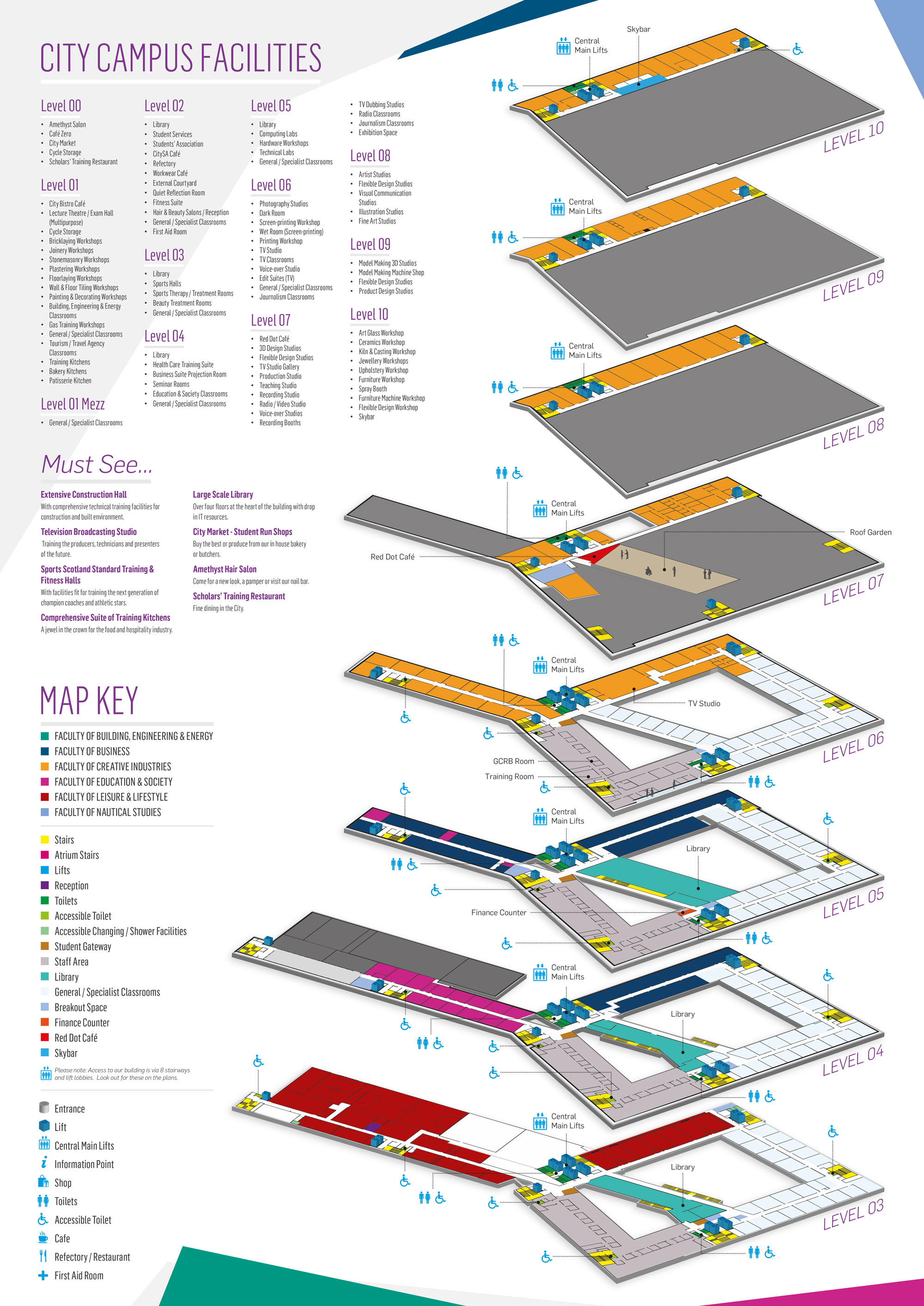 City Campus - Floorplans Guide